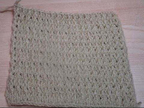Uncinetto Crochet punto rilievo