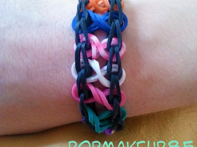 Loom Bands Infinity Tutorial Italiano
