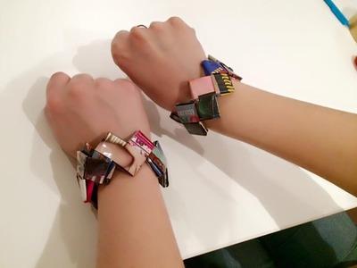 DIY L'arte del riciclo - braccialetti
