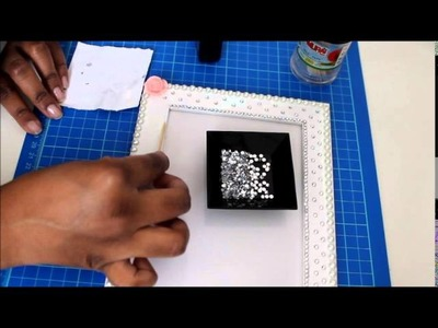 How to: decorate a photoframe. Tutorial: come decorare una cornice