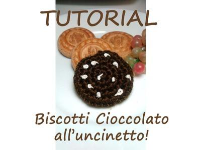 Tutorial Uncinetto - Biscotto cioccolato 2^pt - per super principianti!