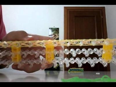 Braccialetti con elastici tutorial