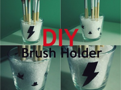 DIY: Brush Holder ❤