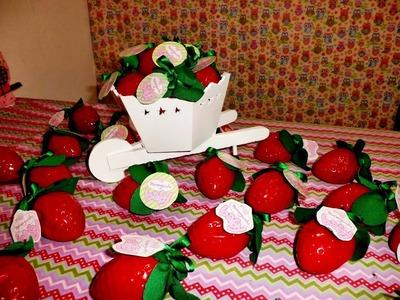 DIY  Festa da Moranguinho Baby   Morango