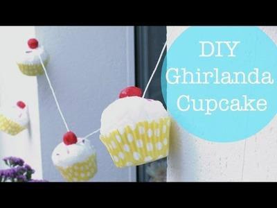 DIY Ghirlanda Cupcake