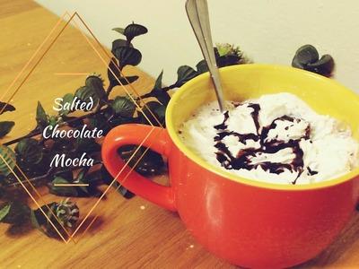 FALL DIY - Salted Chocolate Mocha ☕ | Eleonora Mellonz