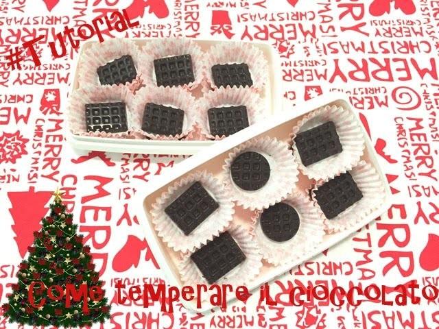 #Tutorial - DIY - Come temperare il cioccolato | senza lattosio | prima parte