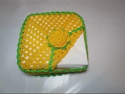 Crochet Uncinetto Porta Tovaglioli