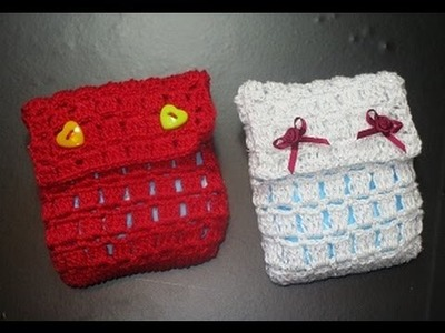 Crochet Uncinetto Porta Assorbente