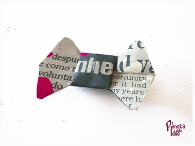 D.I.Y. Come fare un Papillon di Carta Origami - How make a origami  Bow Tie!