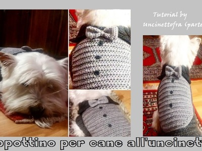 Cappottino per cane all'uncinetto tutorial (parte 1)