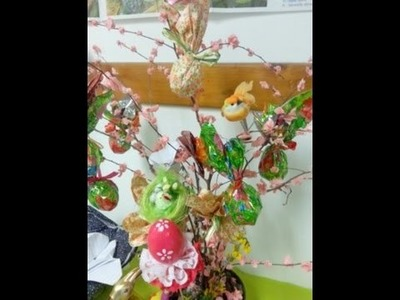 Clil inglese e tecnologia How to make Easter Tree at school with kids