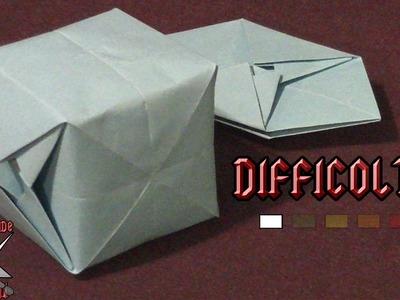 [ORIGAMI ITA] Cubo Gonfiabile || Origami Per Bambini o Principianti (E Non Solo!)