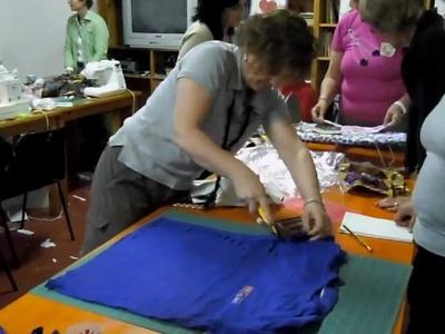 Raduno PatchworkCaffè 2012 - Teeshirt yarn con AnnaPaola