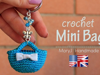Tutorial: crochet miniature bag