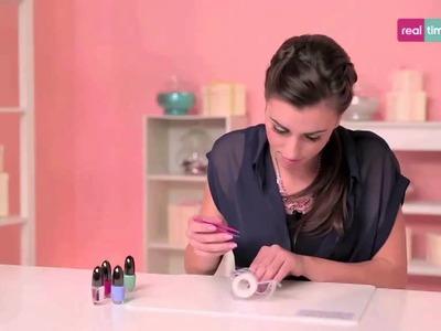 Tutorial di nail art - Stickers fai da te per la nail art - Nail lab con Mikeligna