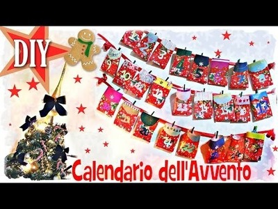 DIY- Calendario dell'Avvento Goloso! ^__^
