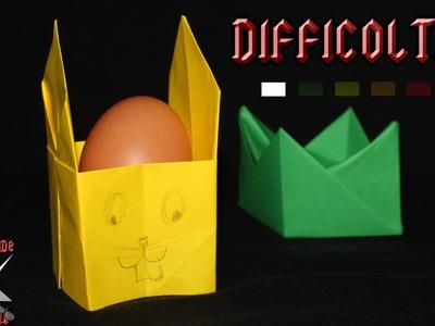 [ORIGAMI ITA] Porta Uova (Di Pasqua) || Origami di Pasqua.Facili o Per Bambini