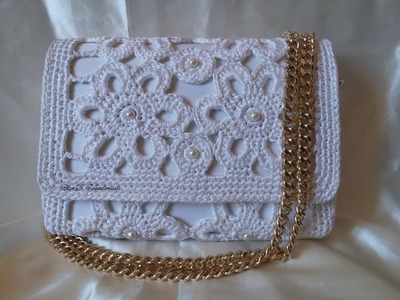 Pochette -  tutorial passo passo per realizzarla - Crochet pochette