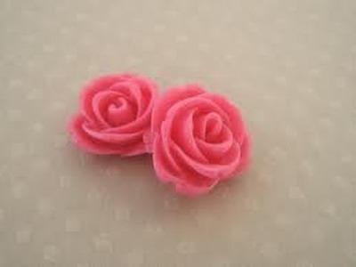 °tuto fimo° Rose