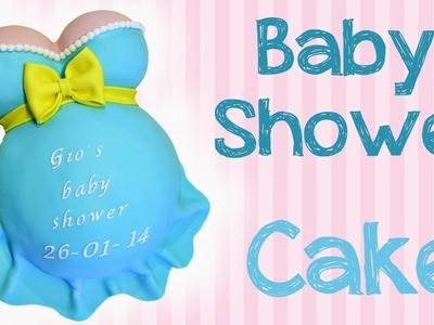 Come decorare la torta per il baby Shower (Sub ENG)