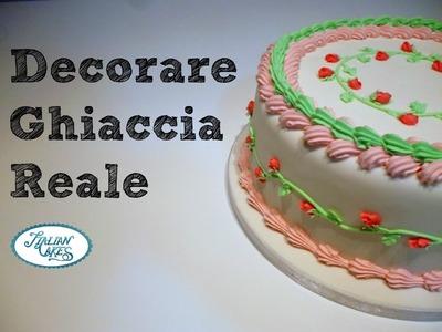 Ghiaccia reale: decorare una torta by ItalianCakes
