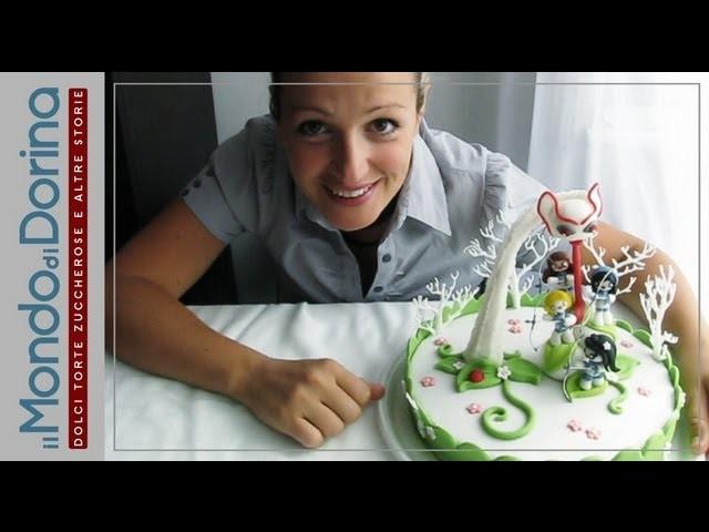 Tutorial Cake Design - Zoom Video Torta Decorata con 4 Arciere