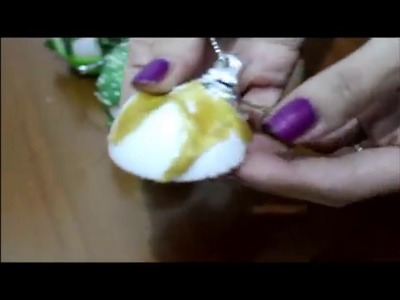 Tutorial: Palline di natale cupcake