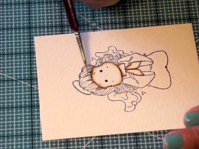 Colorazione con Distress Inks