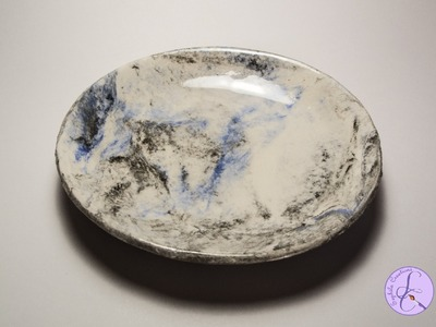 Tutorial: Ciotola Effetto Marmo in Das Idea Mix (marble effect DAS bowl)