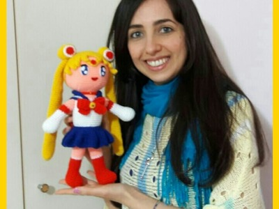 Sailor Moon AMIGURUMI (with English Subtitles) - Uncinetto, Crochet, Ganchillo