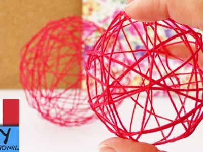 Deco Sfera di fili | Decorazione di primavera di fili & palloncini