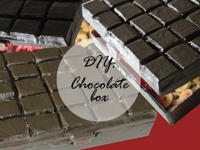 DIY: CHOCOLATE BOX || Tavoletta di CIOCCOLATO porta creazioni (ita-eng)