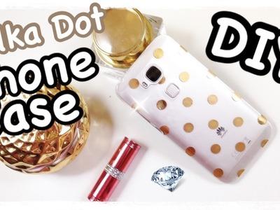 DIY POLKA DOTS PHONE CASE | DIY Fairy | ENG SUBS !!