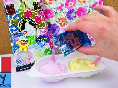 Dolci Popin 'Cookin' set Cream Soda fai da te | Kracie Demo | Caramelle fai da te con gusto Sorpresa