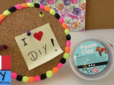Fantastica lavagna da parete fai da te con foam clay | Super decorazione per la tua stanza fai da te