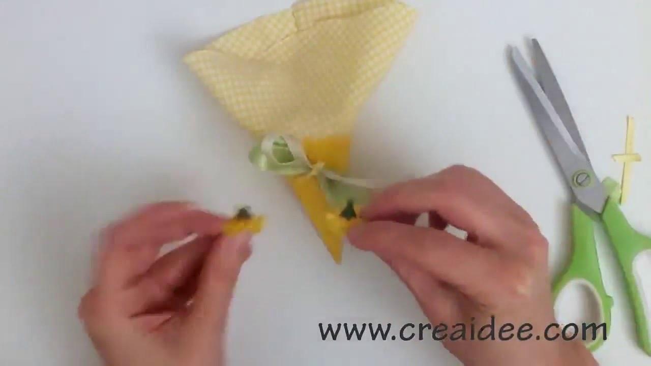 Bomboniera Cono - Tutorial DIY di Creaidee