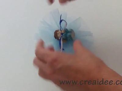 Bomboniera Tulle - Tutorial DIY di Creaidee