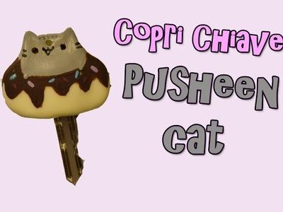 [|Copri Chiave Pusheen Cat|]- DIY