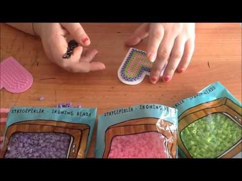 DIY Tutorial  scatolina porta oggetti Hama Beads