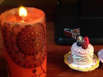 Como decorar una vela | decoupage | D.I.Y