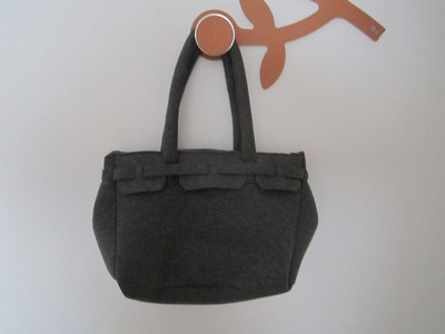 DIY borsa in neoprene tipo birkin