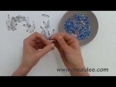 Bracciale con spille da balia - Tutorial DIY di Creaidee