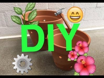 DIY- Come fare vasi bucati per Orchidee e Piante Tropicali.