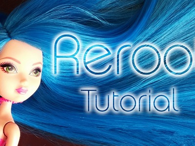 DIY - How to restyle a doll. Reroot - Come trapiantare i capelli di una bambola! [ TUTORIAL ITA ]