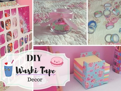 Room Decor DIY with Washi Tape