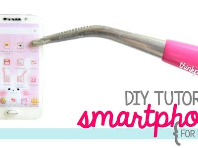 DIY: Miniature Smartphone w.Polymer Clay