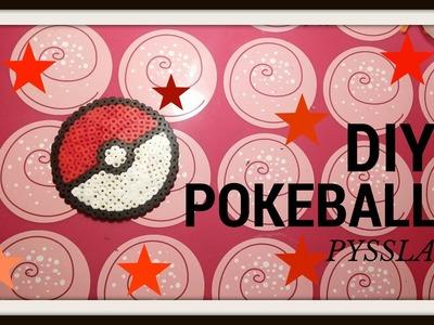 DIY  - Tutorial Pyssla Pokeball ★
