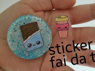 DIY | TUTORIAL Sticker FAI da TE