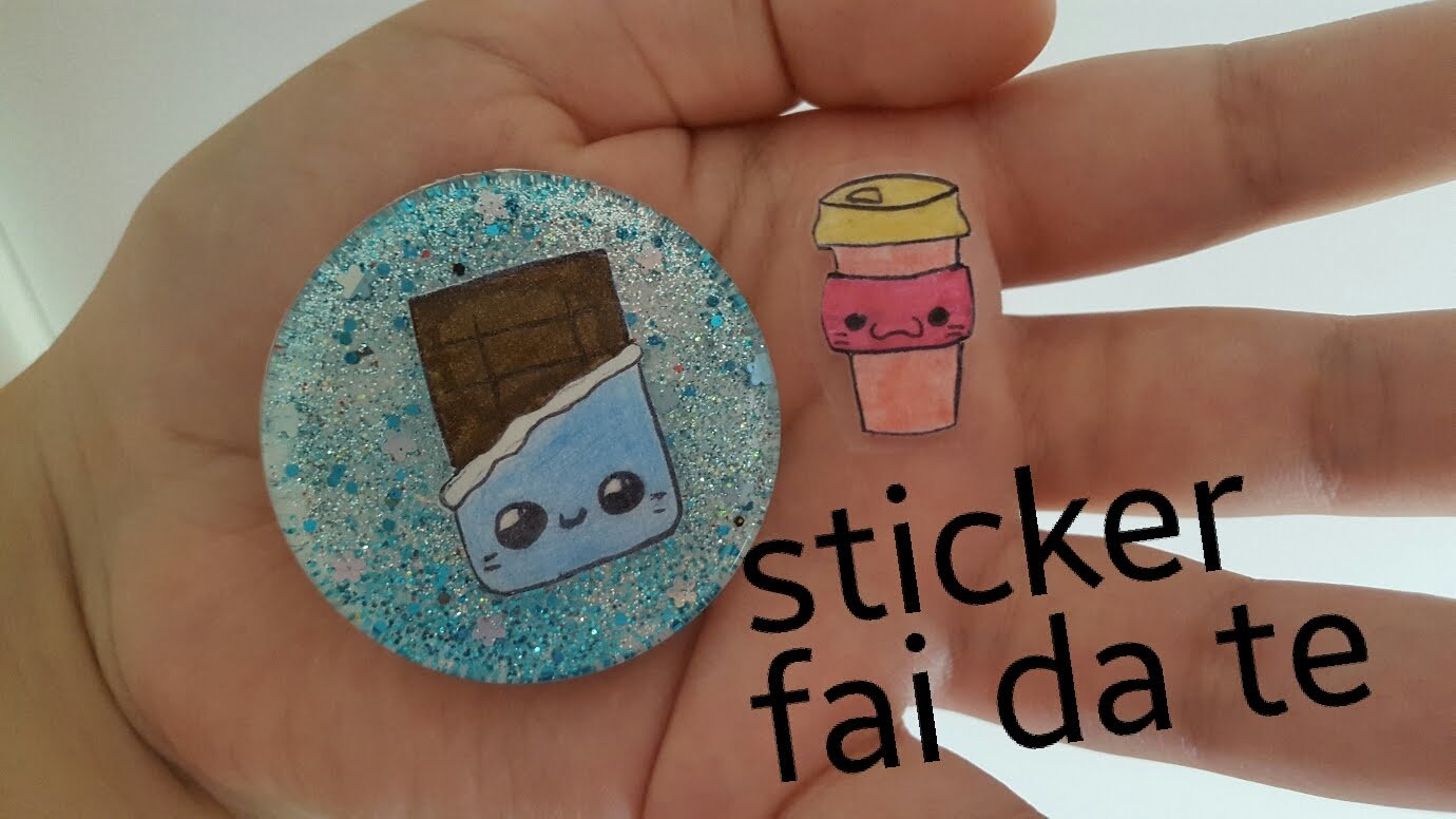 DIY | TUTORIAL Sticker FAI da TE